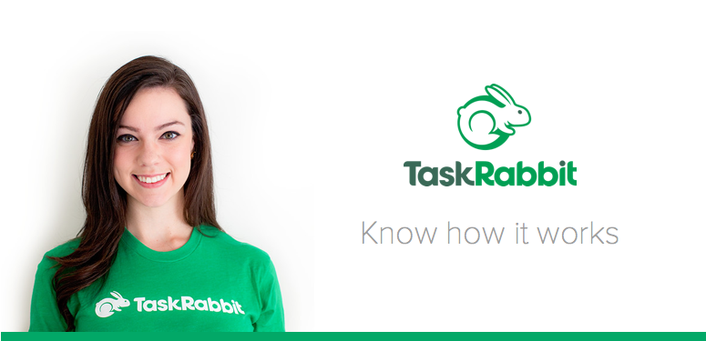 taskrabbit employee photo with logo
