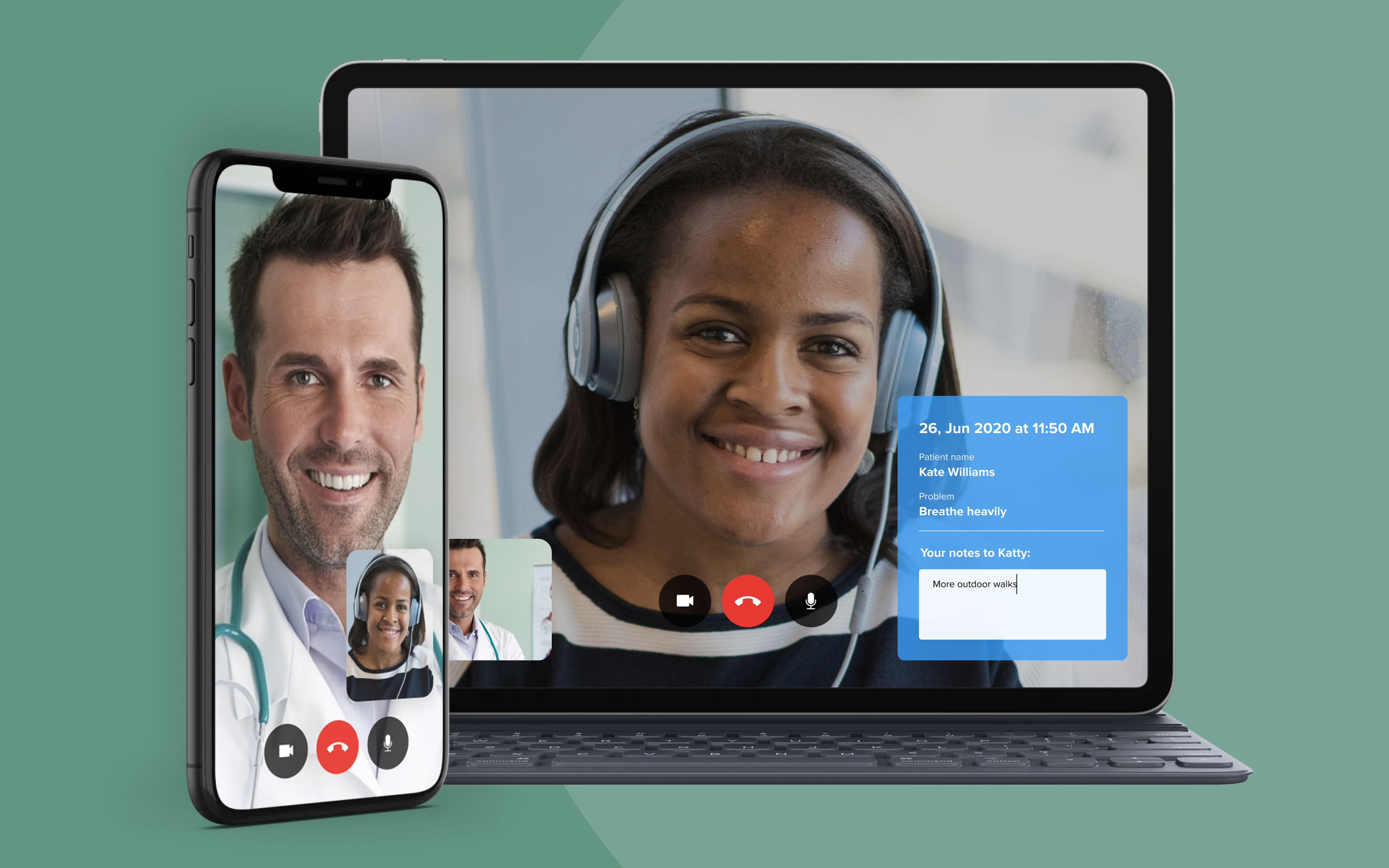 Video conferencing is an essential feature of any robust telehealth solution.