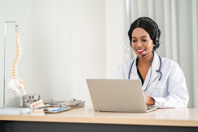 Telemedicine EHR integration into a hospital system enhances patients' flexibility.